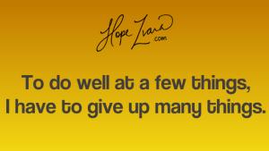 Hope Zvara-How to stay focused blog quote