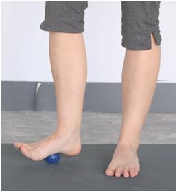 Foam Rolling Exercise for Feet