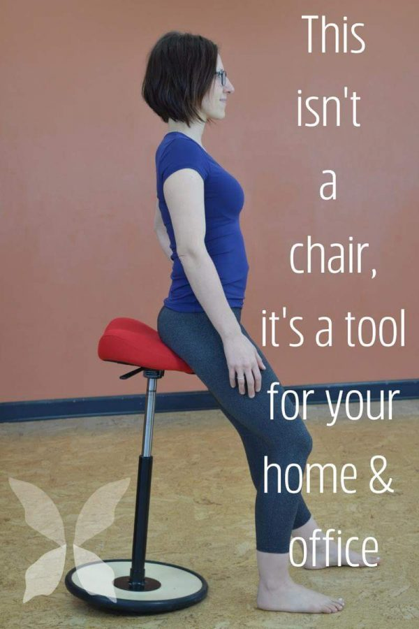 Move Sit Stand Stool Posture HopeZvara.com