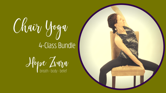 Chair Yoga Online for all student levels
