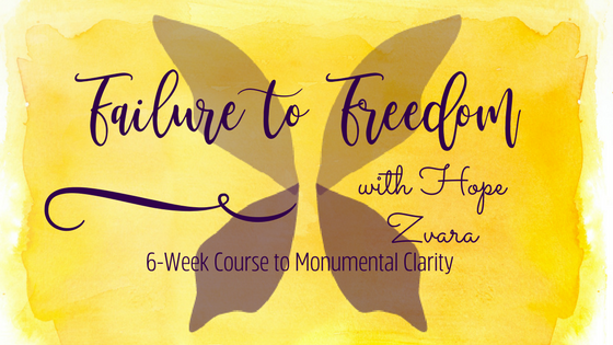 Failure to Freedom: 6-wk mindfulness, motivational and yoga online course