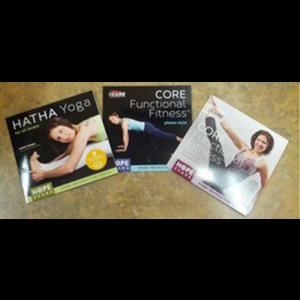 Buy All 3 of Hope Zvara's Core Functional Fitness DVD's