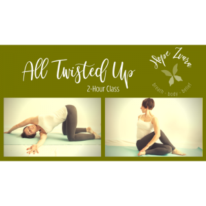 All Twisted Up: A 2 Hour Yoga Practice