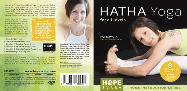 Hatha Yoga for All Levels DVD