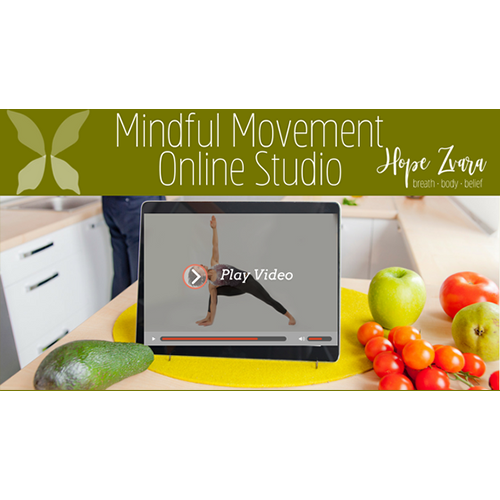 Online Yoga and Mindful Movement Studio