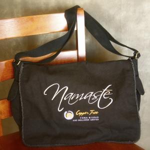 Namaste Black Shoulder Bag