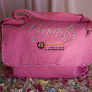 Namaste Pink Shoulder Bag