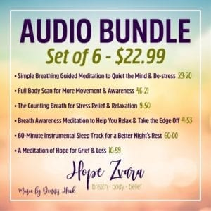 Audio Bundle Hope Zvara
