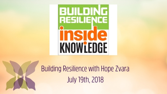 Building Resilience podcast with Hope Zvara