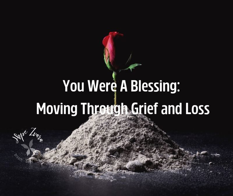 Losing a child blog post hope zvara