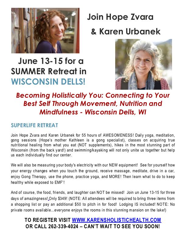 Wisconsin Dells Yoga Retreat