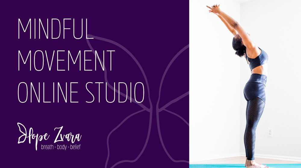 Mindful Movement Studio: mindful movement, yoga exercises and meditation guidance online