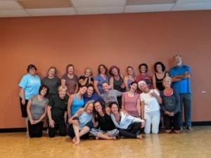 Hope Zvara Last Yoga Class at Copper Tree