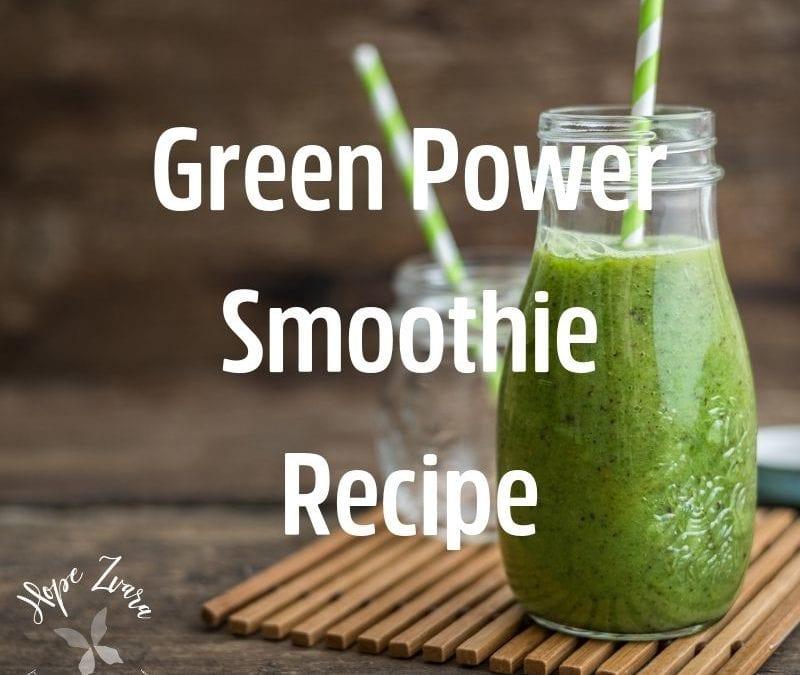 Morning Green Power Smoothie