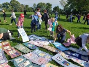 Quilt Squares for Lost Infants Hope Zvara Blog Post