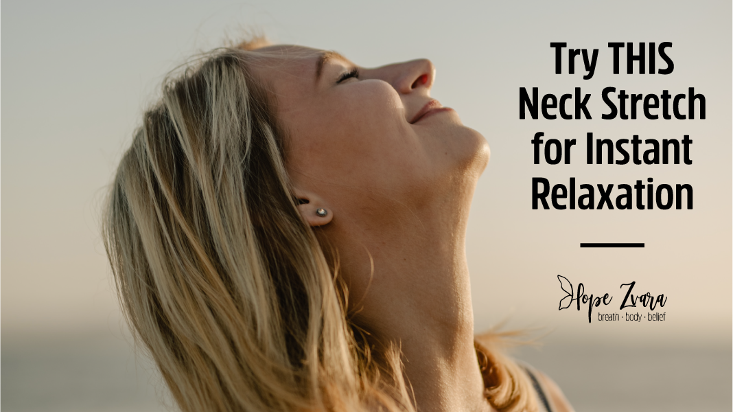 Stretch Your Neck For Instant Relaxation