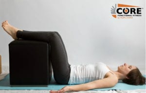 Legs Up With Support Pose