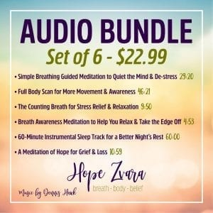 Meditation Bundle Hope Zvara