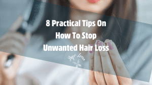 8 Practical Tips On How To Stop Unwanted Hair Loss Hope Zvara Blog