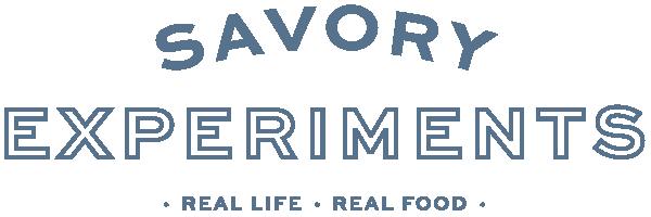 Savory Experiments Website