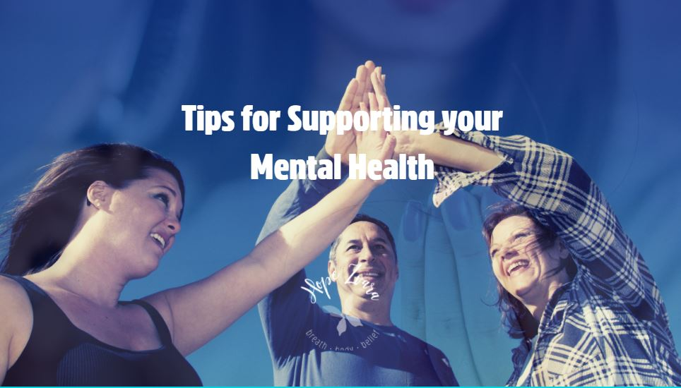 Tips for supporting your mental health title hope zvara blog post