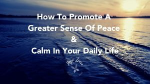 How To Promote A Greater Sense Of Peace & Calm In Your Daily Lifetitle card hope zvara blog